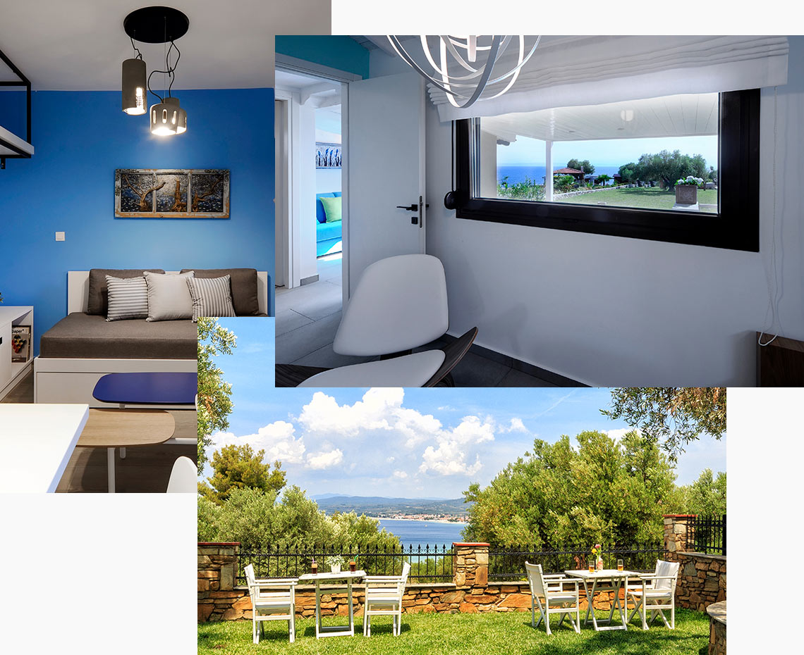 Apartments & Rooms, Halkidiki